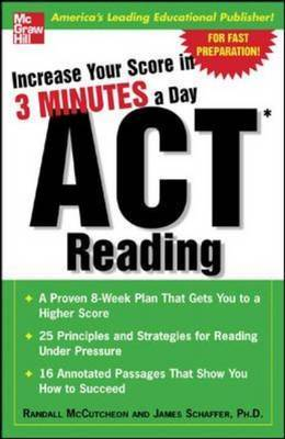 ACT Reading: Increase Your Score in 3 Minutes a Day