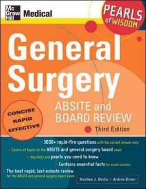 General Surgery ABSITE and Board Review