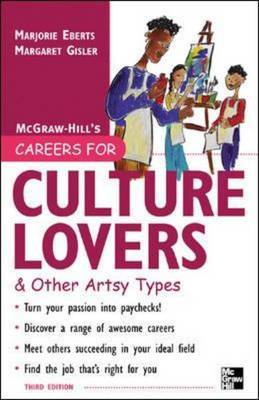 Careers for Culture Lovers and Other Artsy Types