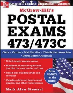 McGraw-Hill's Postal Exams: Exam No. 473/473C