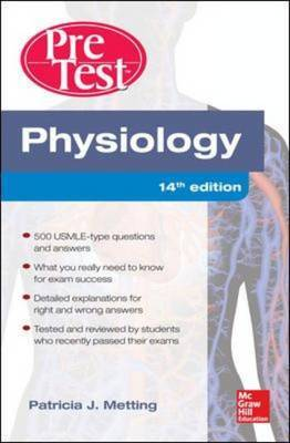 Physiology PreTest Self-Assessment and Review