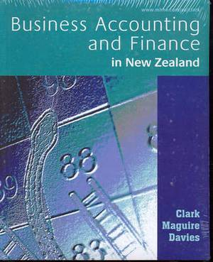 Business Accounting and Finance in New Zealand