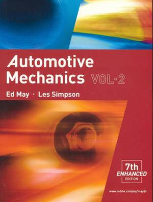 Automotive Mechanics: Vol. 2