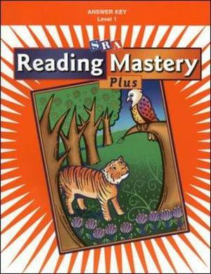 Reading Mastery 1: Answer Key: 2002