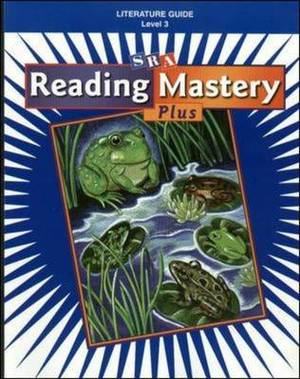 Reading Mastery: Literature Guide, Grade 3