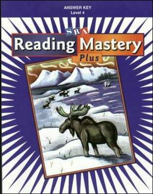 Reading Mastery Plus Grade 4, Additional Answer Key