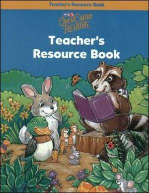 Open Court Reading - Teacher's Resource Book Blackline Masters - Grade Pre-K