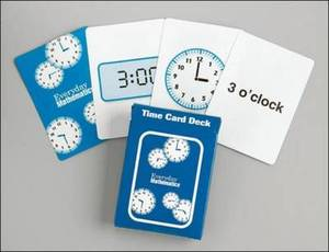 Everyday Mathematics, Grades 1-3, Family Games Kit Time Card Deck