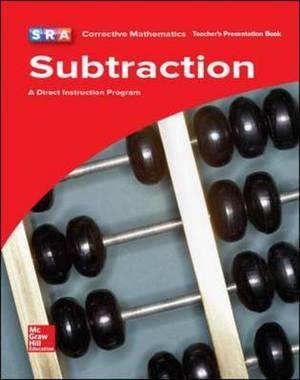 CORRECTIVE MATH - SUBTRACTION PRESENTATION BOOK