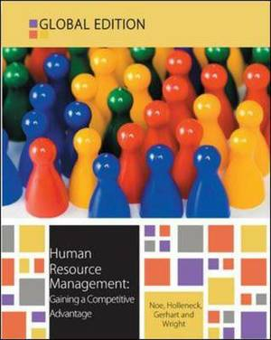 Human Resource Management: Gaining a Competitive Advantage