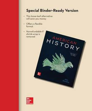Looseleaf for American History: Connecting with the Past Volume 1