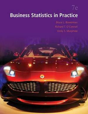 Business Statistics in Practice with Connect Access Card