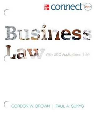 Loose-Leaf: Business Law with Connect Access Card