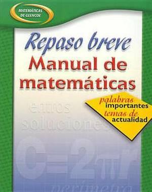 Repaso Breve Manual de Matematicas Libro 3