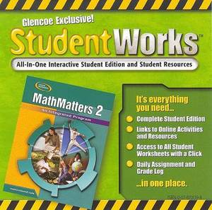 Mathmatters 2: An Integrated Program, Studentworks CD-ROM