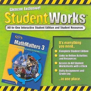 Mathmatters 3: An Integrated Program, Studentworks CD-ROM