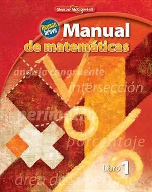 Manual de Matematicas, Libro 1