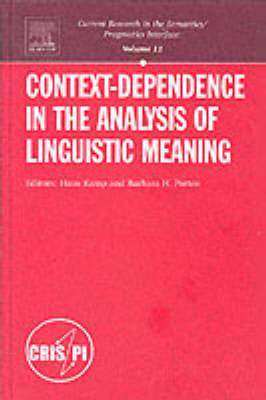 Context-Dependence in the Analysis of Linguistic Meaning