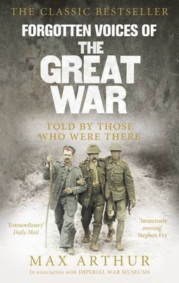 Forgotten Voices Of The Great War