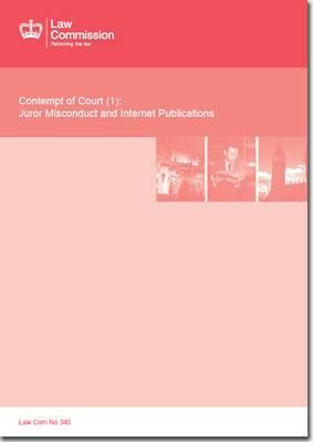 Contempt of Court (1): Law Commission Report #340