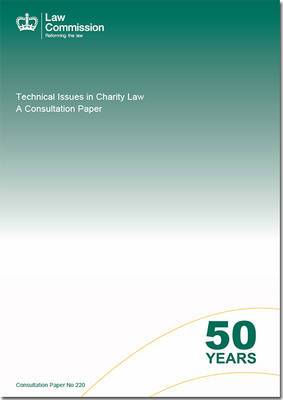 Technical Issues in Charity Law: A Consultation Paper