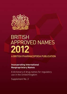British Approved Names: 2012 Supplement 2