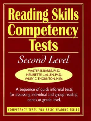 Ready-to-Use Reading Skills Competency Tests: Second Grade Readings Lev, Vol. 3