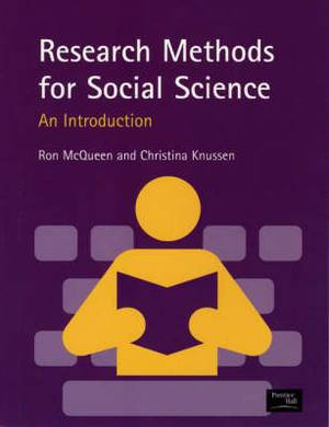 Research Methods for Social Science: A Practical Introduction