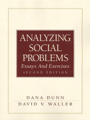 Analyzing Social Problems: Essays and Exercises