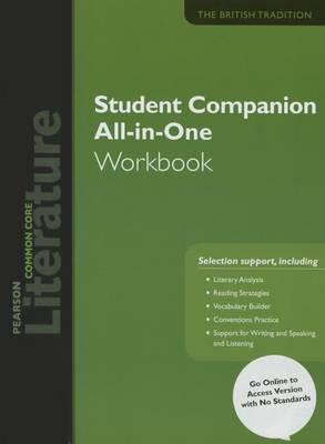 Pearson Literature 2015 Common Core Student Companion All-In-One Workbook Grade 12