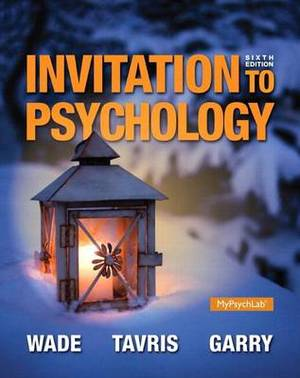 Invitation to Psychology with MyPsychLab Access Card Package