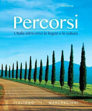 Percorsi: L'italia Attraverso la Lingua e la Cultura Plus MyItalianLab with Pearson eText (Multi-Semester) - Access Card