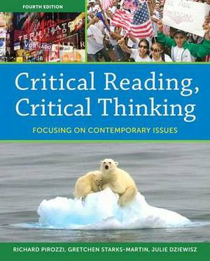 Critical Reading Critical Thinking: Focusing on Contemporary Issues Plus Myreadinglab -- Access Card Package
