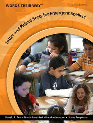 Words Their Way Letter and Picture Sorts for Emergent Spellers