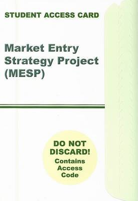 Market Entry Strategy Project Access Code Card