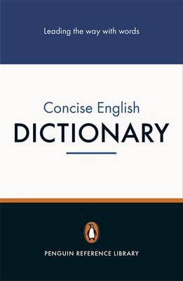 Penguin Concise English Dictionary