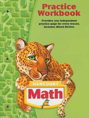 Harcourt Math Practice Workbook, Grade 5