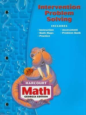 Harcourt School Publishers Math Georgia: Intrvn Prob Slvng Se Gr3