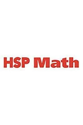 Harcourt School Publishers Math: Teacher Assessment Guide Grade 1
