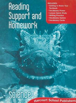 HSP Science Reading Support and Homework: grade 6