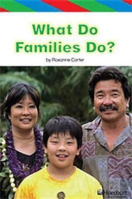 Storytown: Ell Reader Teacher's Guide Grade K What Do Families Do?