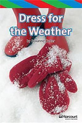 Storytown: Ell Reader Teacher's Guide Grade K Dress for Weather