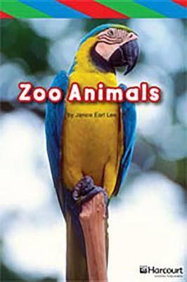 Storytown: Ell Reader Teacher's Guide Grade K Zoo Animals