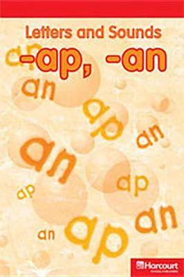 Storytown: Below Level Reader Teacher's Guide Grade K Letters and Sounds AP/An