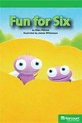Storytown: Above Level Reader Teacher's Guide Grade K Fun for Six