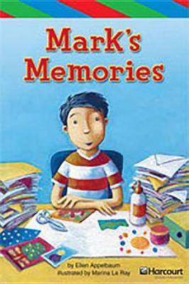 Storytown: Ell Reader Teacher's Guide Grade 3 Mark's Memories