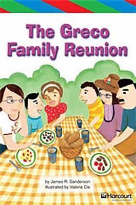 Storytown: Ell Reader Teacher's Guide Grade 4 Greco Family Reunion