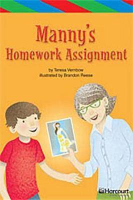 Storytown: Ell Reader Teacher's Guide Grade 4 Manny Homework Assignment
