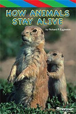 Storytown: Ell Reader Teacher's Guide Grade 4 How Animals Stay Alive