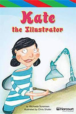 Storytown: Ell Reader Teacher's Guide Grade 4 Kate the Illustrator